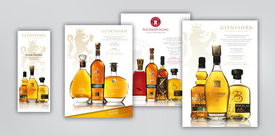 Glen fahrn inserate fdmm corporate design ag for Plante whisky